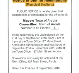 Notice of Call for Nominations